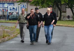 Dietrich, Torben und Maurice Brosenne am 13.06.2015 in Leinefelde.