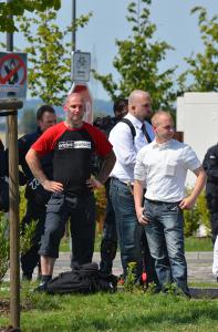 Mario Messerschmidt und Pascal Zintarra am 1.08.2015 in Bad Nenndorf