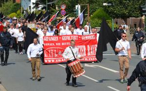 Nur 201 Neo-Nazis am 1.08.2015 in Bad Nenndorf